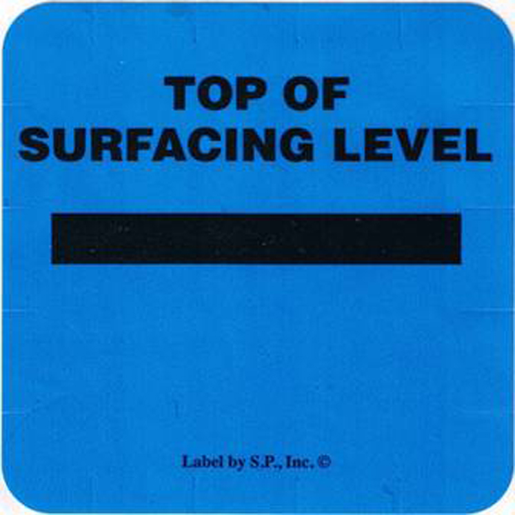 Surfacing Level Marker Labels (Specify English or Spanish)