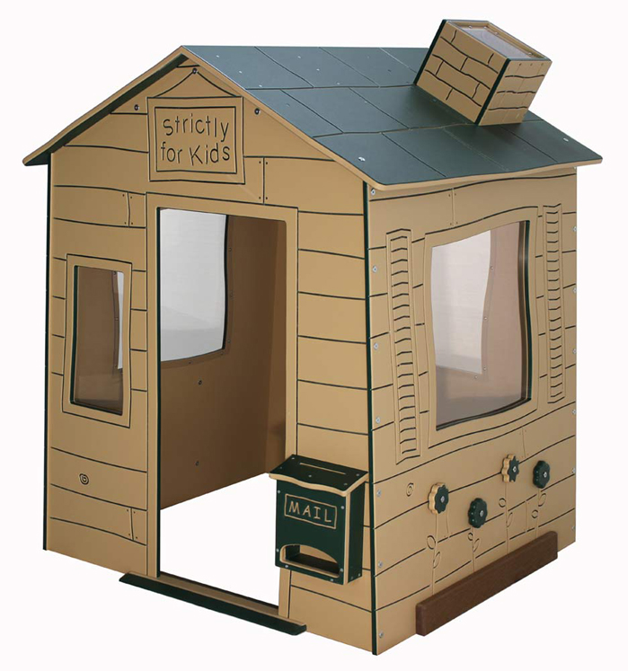 Whimsical Cottage Mini Playhouse