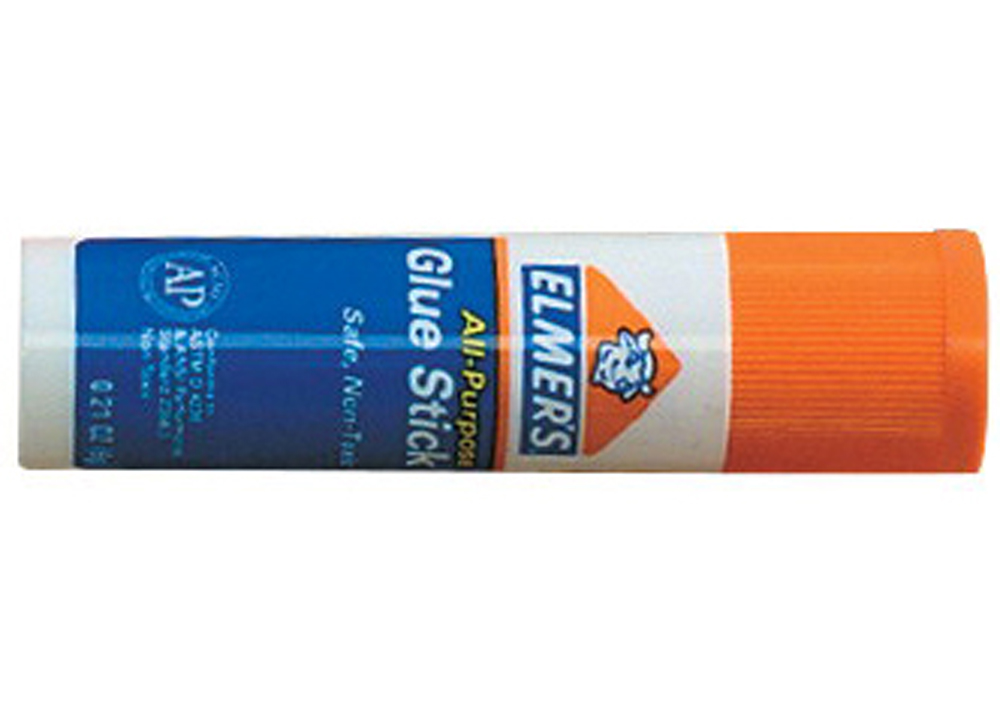 Elmer's Acid-Free Multi-Purpose Disappearing Non-Toxic Handy Twist-Up Washable School Glue Stick, 0.21 oz Tube, Clear