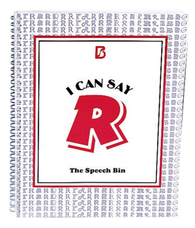 Abilitations Speech Bin I Can Say R Special Needs Speech Therapy Book