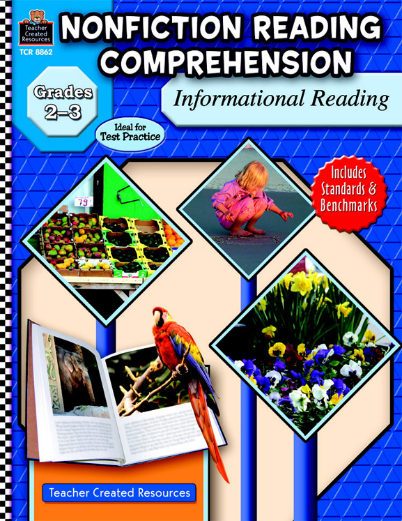 Non-Fiction Reading Comprehension: Informational Reading Workbook, Grades 2 - 3 - 144 Pages