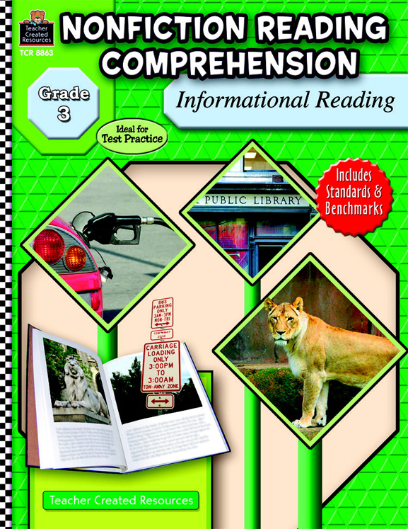Nonfiction Reading Comprehension: Informational Reading - Grade 3