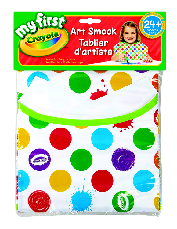 Crayola My First Non-Toxic Art Smock Apron