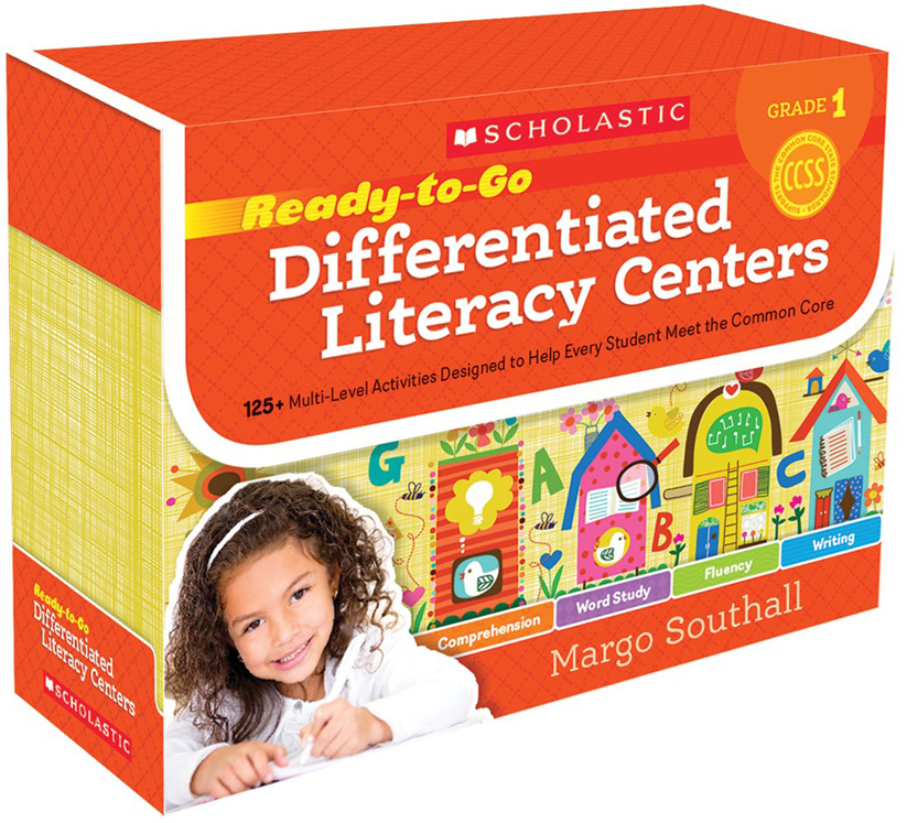 Ready-to-Go Differentiated Literacy Centers: Grade 1