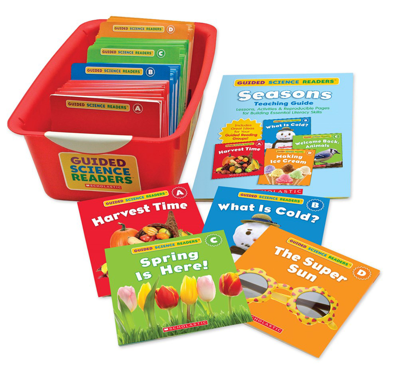 Guided Science Readers Super Set - Seasons