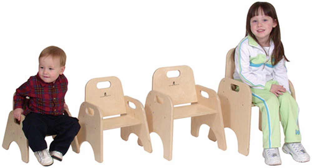 Stackable Chair - Multiple Heights Available, without Seat Strap