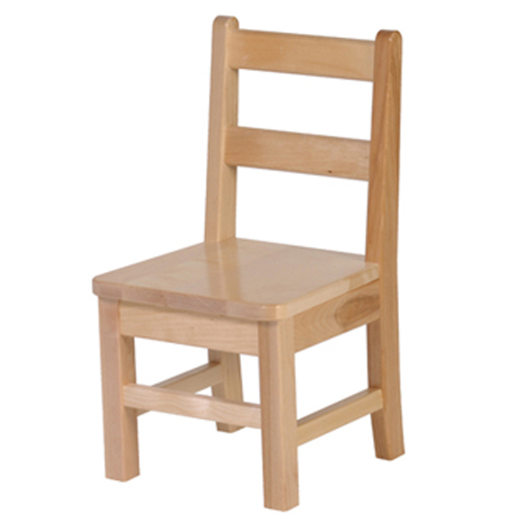 Solid Birch Classroom Chairs - Select Size