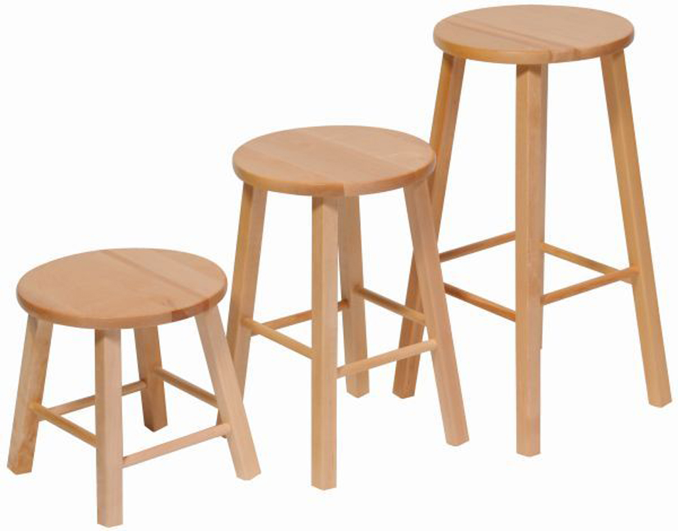 Maple Stool - Multiple Sizes