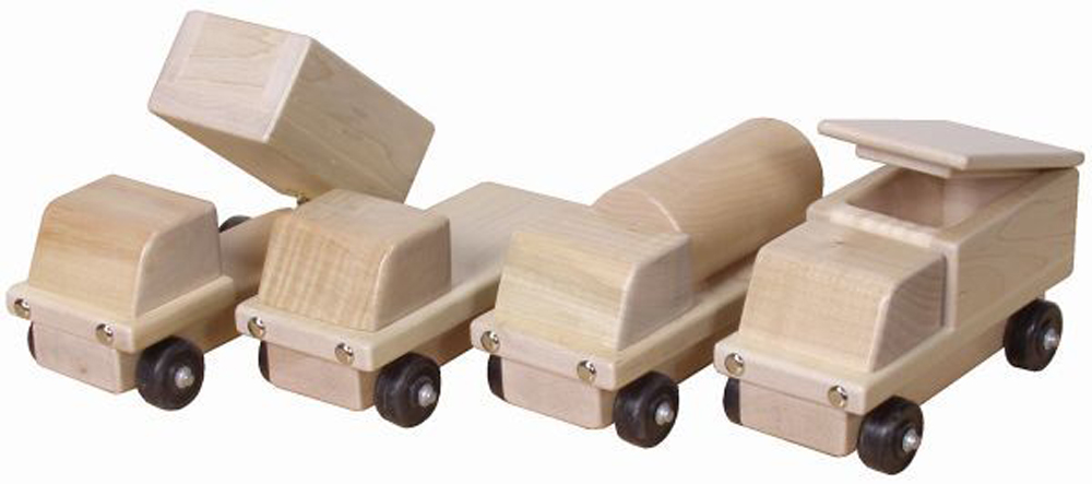 Transportation Trucks - Set of 4