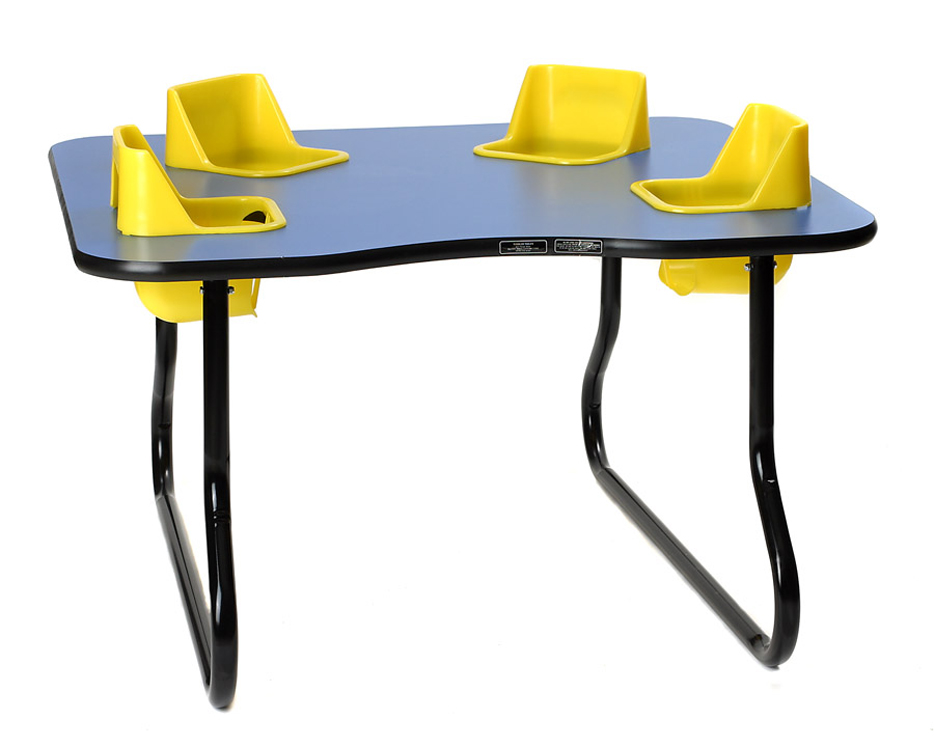 4 Seat Space Saver Toddler Table, 27