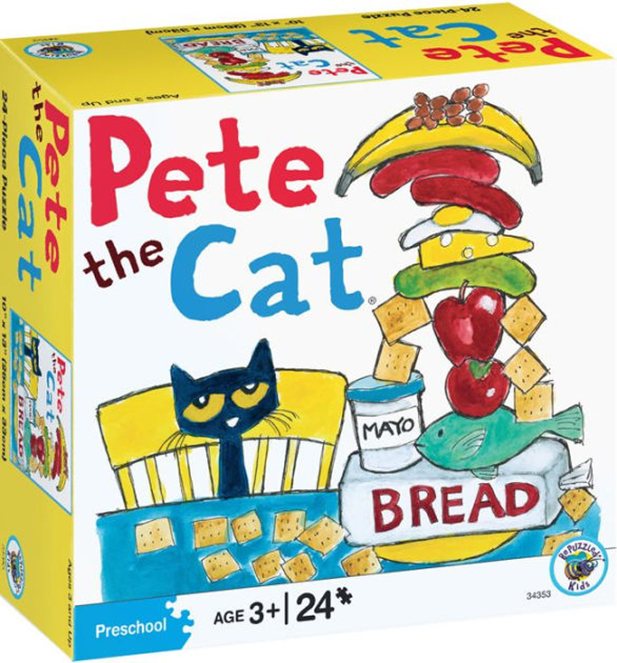 Pete the Cat, Puzzle-Eating Lunch - 24-Piece