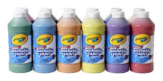 Artista II Washable Tempura Paint, 16 oz - Assorted Colors