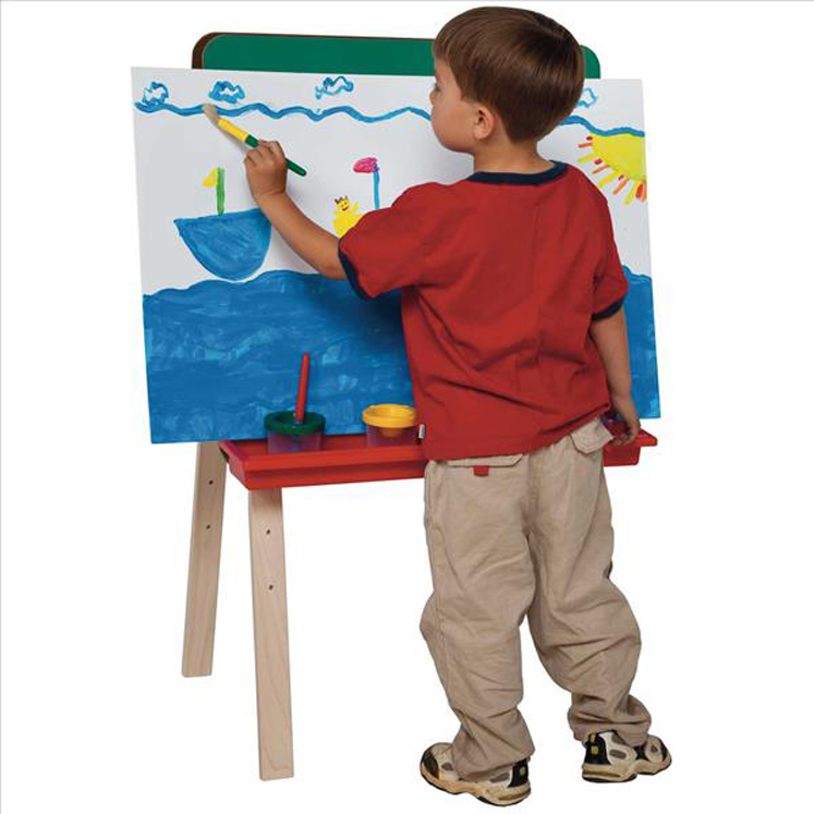 Toddler Size Double Chalkboard Easel | 36