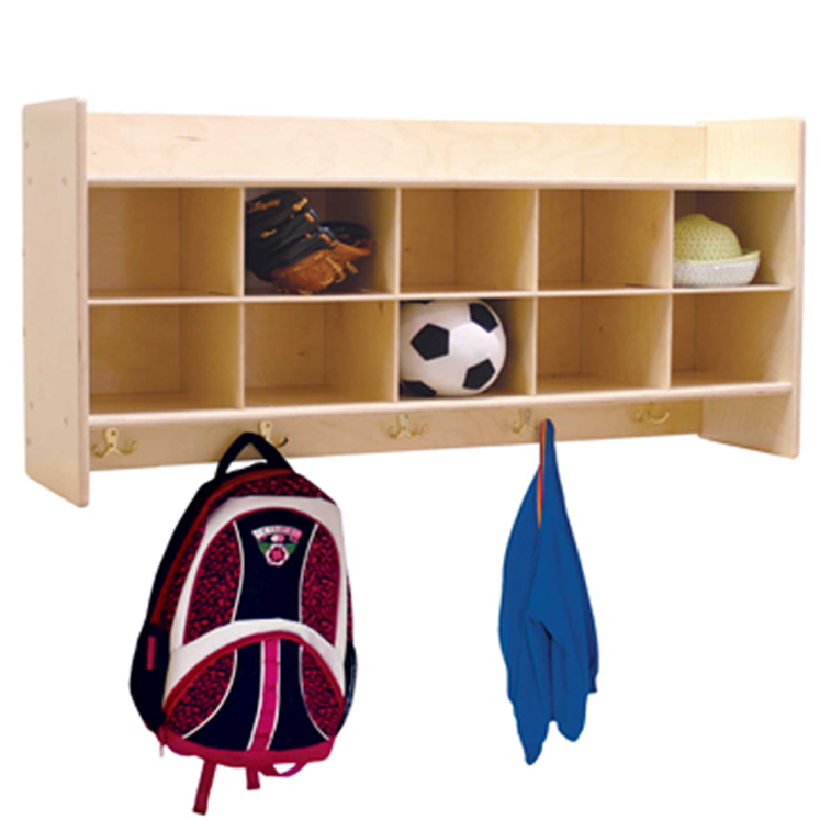 Wall Locker and Storage, Tray Options