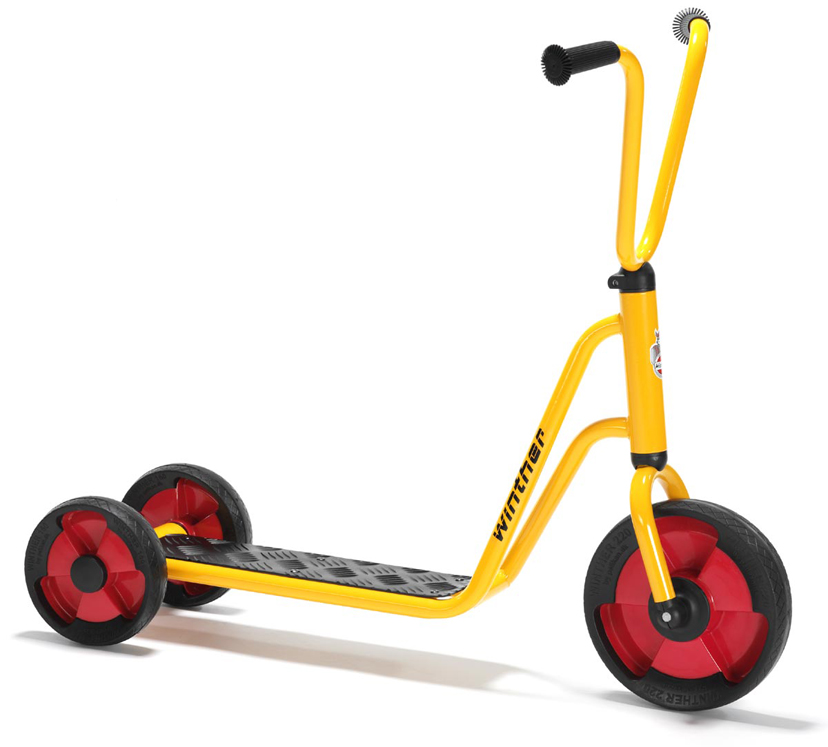 3-Wheel Scooter, Yellow
