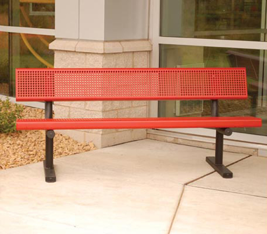 Classic 6' or 8' Bench - Mounting and Color Options Available