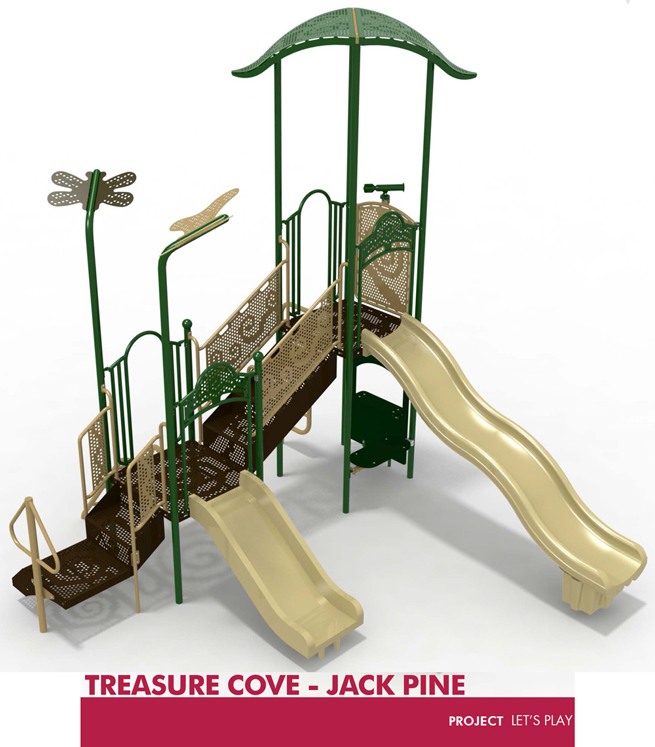 Treasure Cove - Three Colors Available