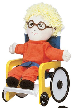 Special Needs Doll Accessories - Vinyl Glasses