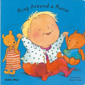 Nursery Rhyme Ring Around a Rosie - Board Book