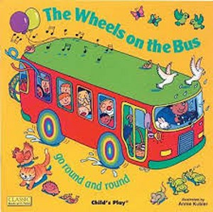 The Wheels on the Bus Classic Board Book with Holes