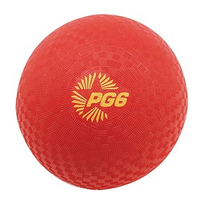 Playground Ball Red, Two Sizes