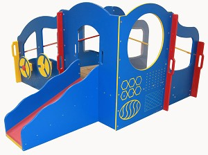 Infant Toddler Dream Playground, Bright Colors