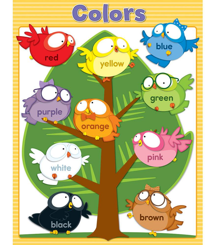 color chart for preschoolers - Mersn.proforum.co