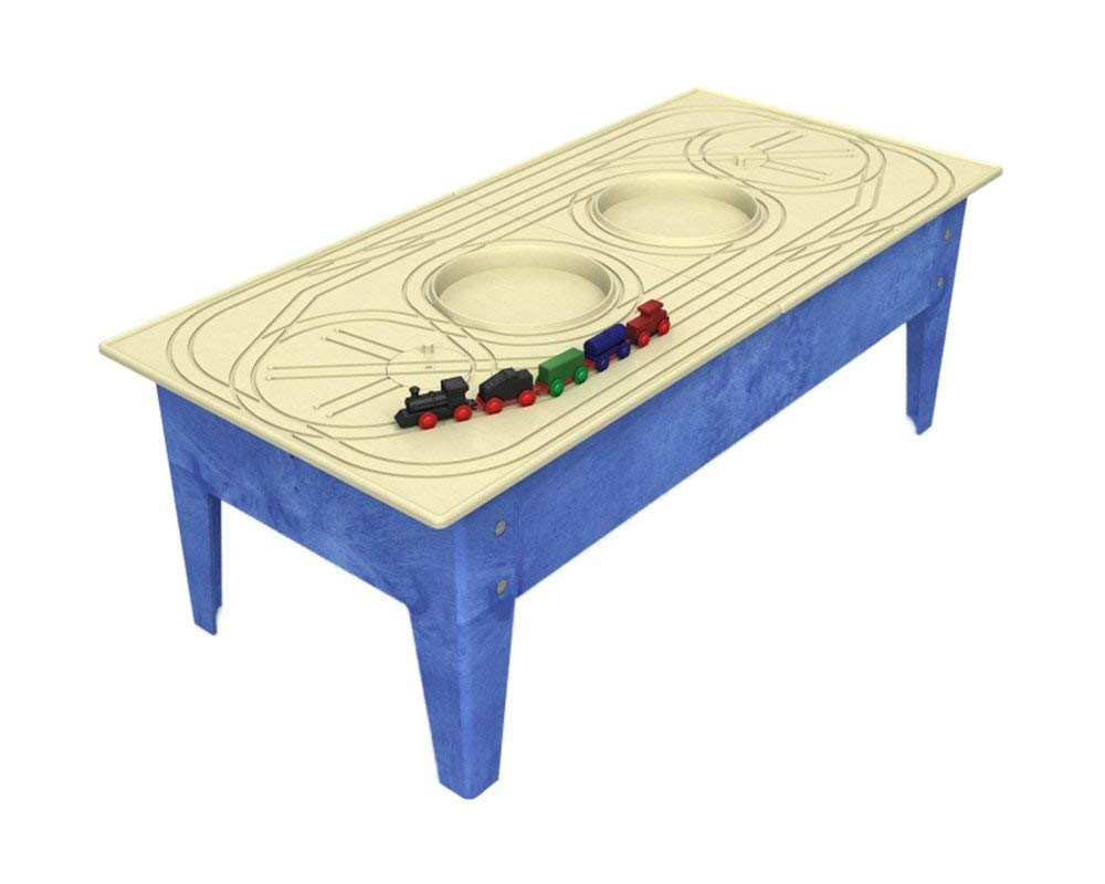 Cool Childbrite 18 Toddler Activity Table With Express Route Board Train Set Creativecarmelina Interior Chair Design Creativecarmelinacom