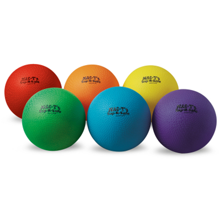Sup-R-Safe Playground Ball - Set of 6