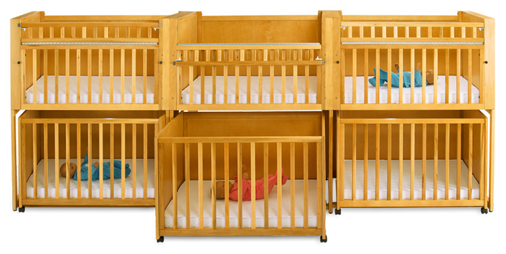 Up To 75 Off Bunkie C 6 Six Infant Stackable Crib