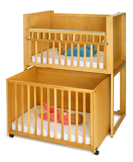 Bunkie Stackable Cribs