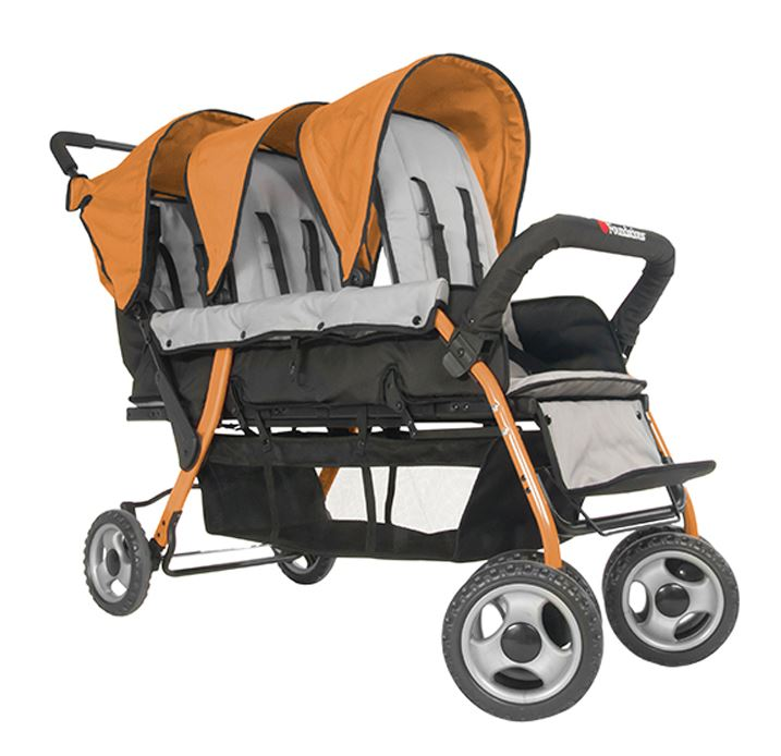 Commercial Strollers For Up To 8 Passengers Quad Stroller