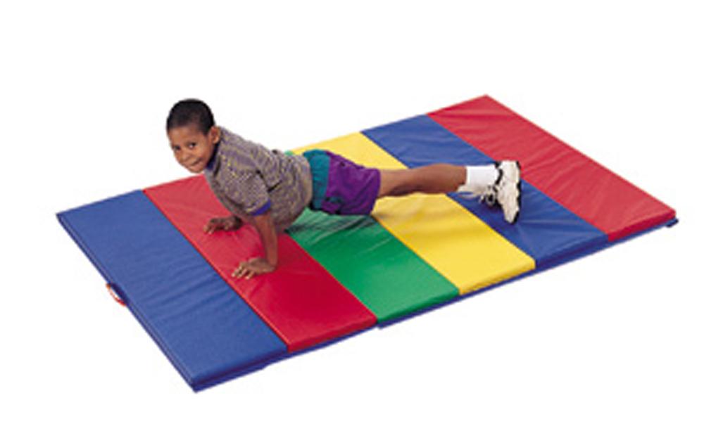 Rainbow Panel Folding Mats - Size & Handle Options
