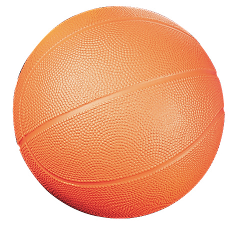 Coated High Density Foam Ball, Basketball - Size 3