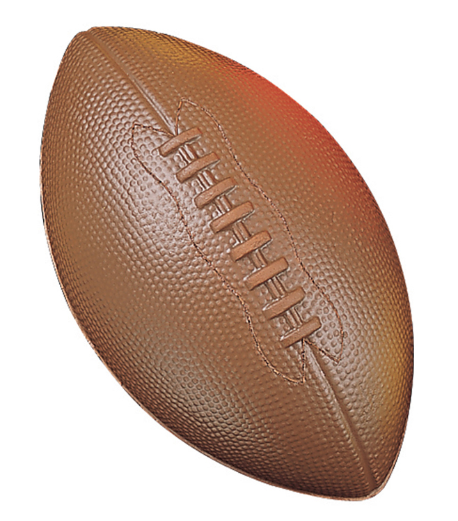 Coated High Density Foam Ball, Football, Junior