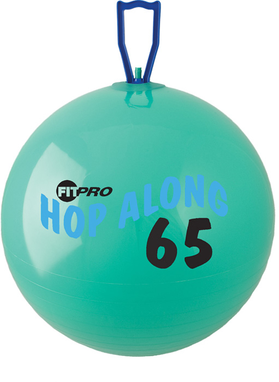 Fitpro Hop Along Pon Pon Ball, Large, Green, 25 1/2