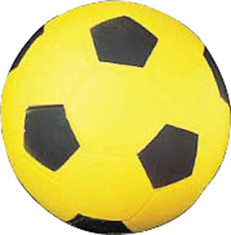 Coated High Density Foam Ball, Soccer Ball - Size 4