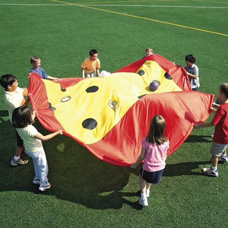 Swiss Cheese Parachute - 12' Diameter
