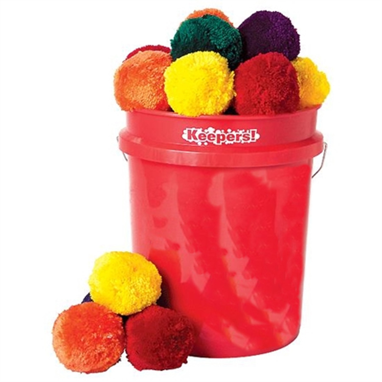 Keepers! Fleece Ball Set - Set of 48