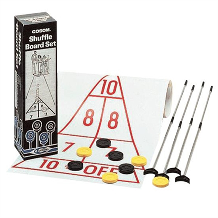 Aluminum Shuffleboard Set with Court