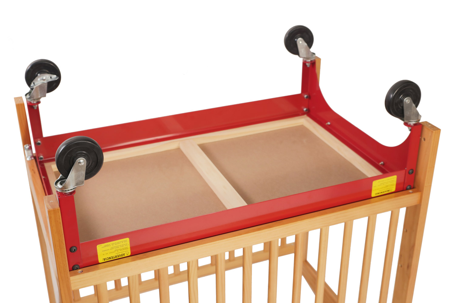 Evacuation Frame For Most LA Baby Compact Wooden Cribs