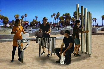 Street Quartet Ensemble, set of 4 Instruments