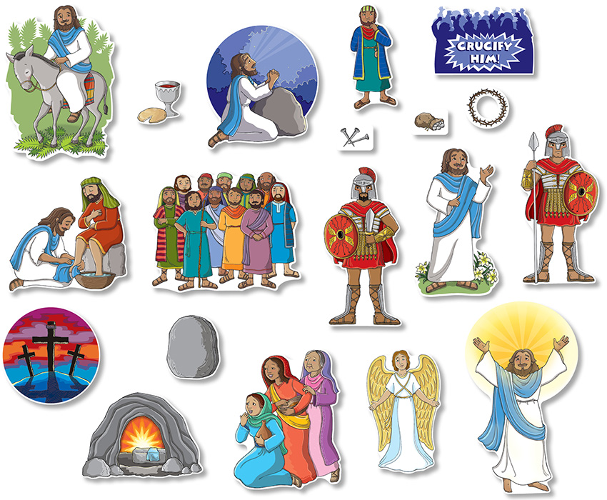 Up to 75% Discount on Easter Story, Bulletin Board Set