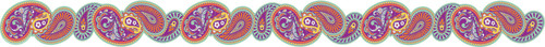 Positively Paisley Extra Wide Die-Cut Deco Trim®
