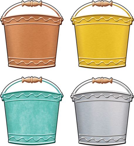 I ? Metal Buckets Classic Accents® Variety Pack