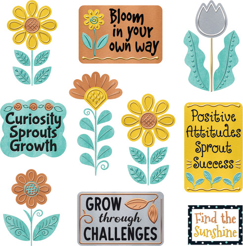 I ? Metal™  Grow for It Mini Bulletin Board Set