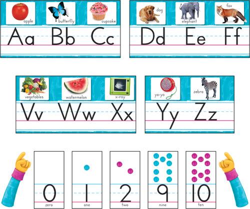 Color Harmony™ Photo Alphabet Bulletin Board Set