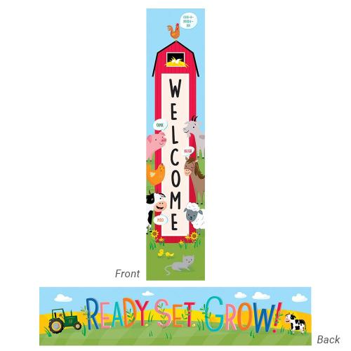 Farm Friends Welcome Banner