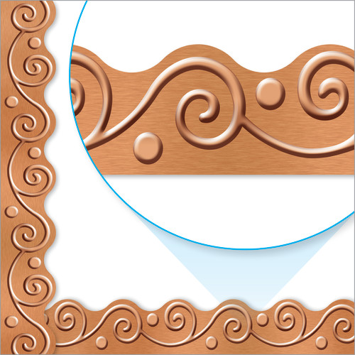 I ? Metal Copper Scrolls Terrific Trimmers®