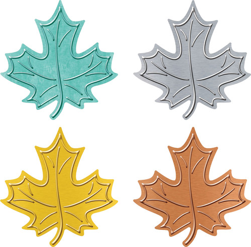 I ? Metal™ Leaves Classic Accents® Variety Pack
